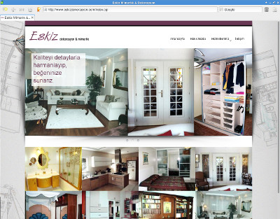 Eskiz Decoration web site is completed